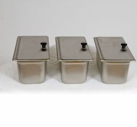 pans for hot dogcarts