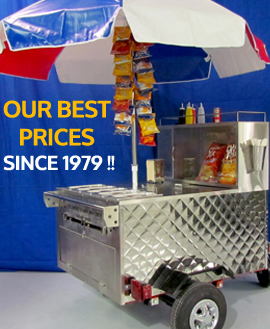 hot dog carts best price